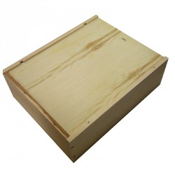 3 Bottles Wooden Box