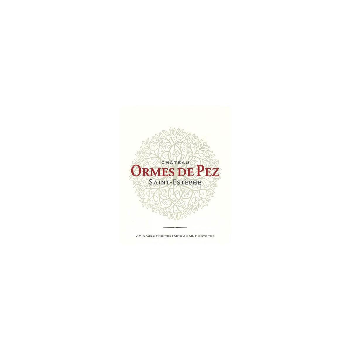 Ch 226 Teau Les Ormes De Pez Feel Rouge