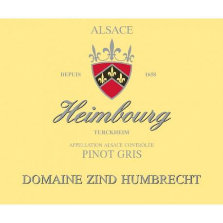 Zind Humbrecht Pinot Gris Heimbourg 2013