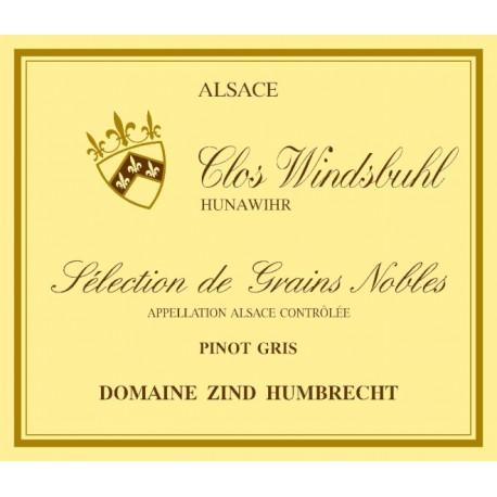 Zind Humbrecht Pinot Gris Clos Windsbuhl Sélection de Grains Nobles 2010