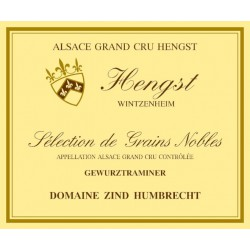 Zind Humbrecht Gewurztraminer Hengst Sélection de Grains Nobles