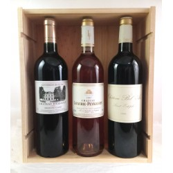Wooden Box Bordeaux Old Vintages