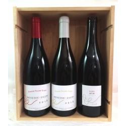 Caja de Madera Vinos biologicos - Valle del Loira