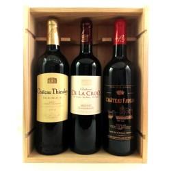 Caja de Madera Vinos de Burdeos