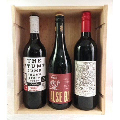 Wooden Box New World Wines